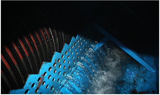 图1煤矿磁分离水处理系统出水
