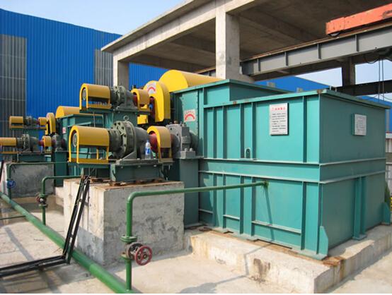图3某钢厂稀土超磁分离设备